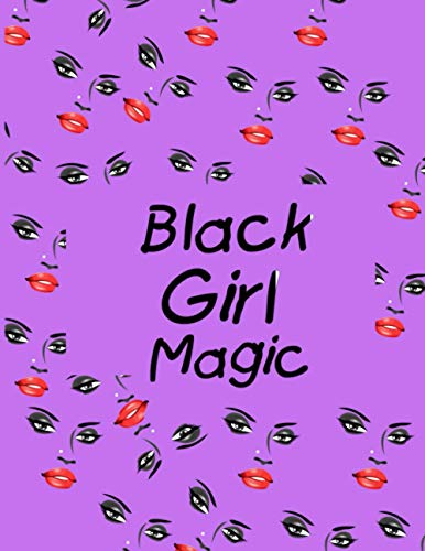 Black Girl Magic 2021-2024 Planner:4 Year Monthly Organizer & Agenda with 48 Months Spread View. Four Year Calendar with Inspirational Quotes, Notes, ... Boards.(Planner for African American Women)