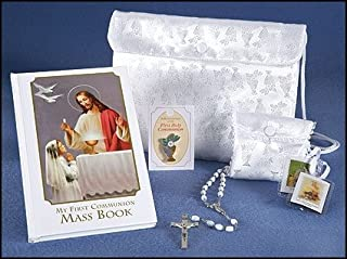 Heavenly Feast First Communion 6 Piece Gift Set for Girls