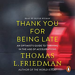 Thank You for Being Late cover art