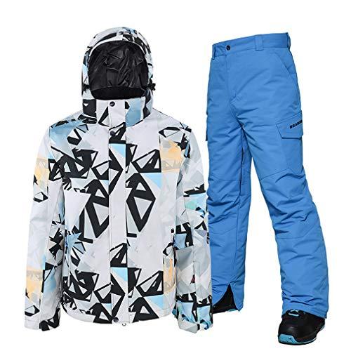 Heren skipak, ski-jacks en broeken, set, winddicht, waterdicht, outfit, skiën, snowboard en skikostuum, snelheidsski