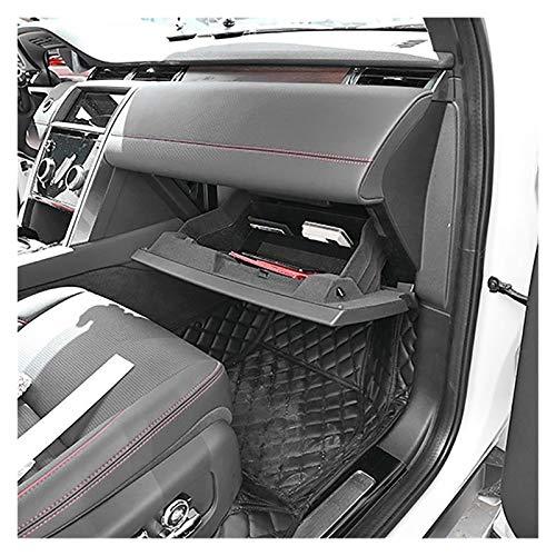 Rumors Black Car Interior CO-Pilot Glove Glove Caja DE Almacenamiento Caja De Almacenamiento Trans Bandeja Organizador Ajuste para Land Rover Discovery Sport 2019-2020 (Color Name : Black)