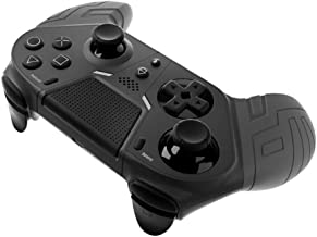 $32 » Game Controllergamepad Ps4 Bluetooth Gaming Joystick with Programmable Back Button for Ps4 Console Gaming Black
