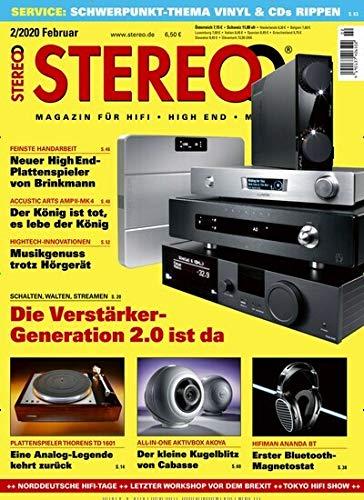 """Stereo 2/2020 \""""Die Verstärker-Generation 2.0 ist da\"""""""