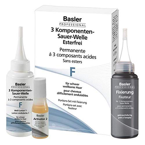 Basler 3-Komponenten Sauer-Welle F, für schwer wellbares Haar