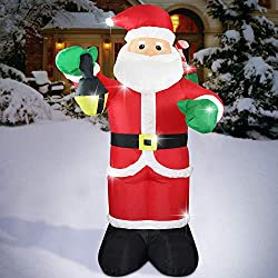 6 Ft. Inflatable Santa Clause - $23.99!