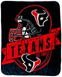 The Northwest Company Officially Licensed NFL 'Grand Stand' Plush Raschel Throw Blanket , Houston Texans, 50' x 60'