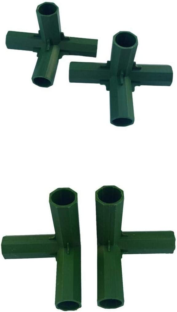 Baoblaze Very popular 3L 4L Selling Greenhouse Frame Connectors Fu Stands for Flower