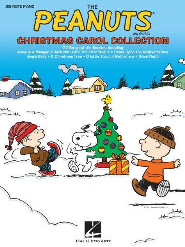 The Peanuts Christmas Carol Collection Songbook (English Edition)