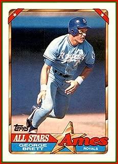 1990 Topps Ames All-Stars #2 George Brett HOF KANSAS CITY ROYALS