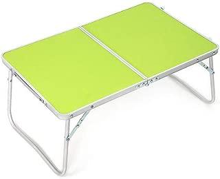テーブル・チェアセット ノートパソコン テーブル スタンド コンピュータ デスク 折り畳み式 トレイ ソファ ベッド テラス バルコニー ガーデン CJC (色 : T1)