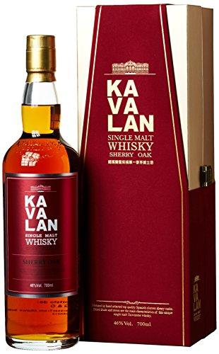 Kavalan Single Malt Whisky Sherry Oak 46% vol Taiwan (1 x 0.7 l)