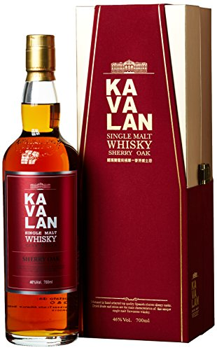 Kavalan Single Malt Whisky Sherry Oak Taiwan (1 x 0.7 l)