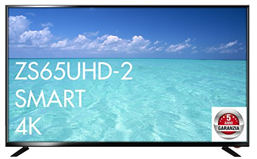 Zephir ZS65HD Smart 65' 4K Ultra HD Smart TV Wi-Fi Nero