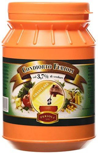 Ferioli - Brodo Condiorto Vegetale Granulare - Barattolo 1Kg