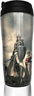 Coffee Cup Final-Fantasy XV Anime Style 12oz (350ml) Coffee Cup, Cup, Teacup, Travel Mug, With Sealing Cover