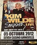Kim Wilde-Snapshot - 2012-80 x 120 cm/Poster Poster