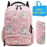 Mochila Escolar Chica Niñas Unicornio Linda Bolso Casual Backpack Mochilas para Niñas...