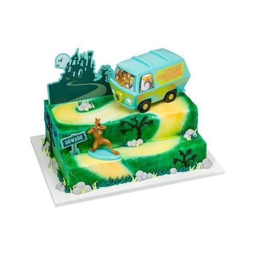Scooby Doo Mystery Machine Signature Cake Decorating Kit
