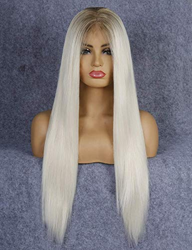 - Platin Blonde Perücke