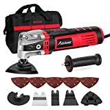 Avid Power Oscillating Tool, 3.5-Amp Oscillating Multi Tool with 4.5Oscillation Angle, Variable Speeds and 13pcs Accessories