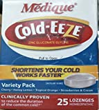 Medique Products 45873 Cold-Eeze Tablets, 25 Per Box