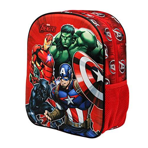 KARACTERMANIA The Avengers Strength-3D Rucksack (Klein)