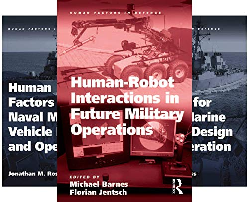 Human Factors in Defence (20 Book Series)