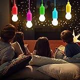 LATTCURE Lámparas LED para camping, linterna, 5 unidades de luz portátil para senderismo, pesca, escritorio, camping, tienda de campaña, jardín, barbacoa o simplemente como lámpara decorativa