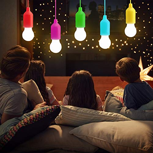 LATTCURE Lamping LED Leuchte, Lampen Camping Laterne, Tragbare 5 Stück Licht für Wandern, Angeln, Schreibtisch, Camping, Zelt, Garten, BBQ oder einfach als dekorative Lampe
