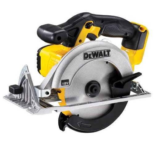DEWALT DCS391N-XJ XR 165 mm Circular Saw-Bare Unit, 9 W, 18 V, Yellow/Black