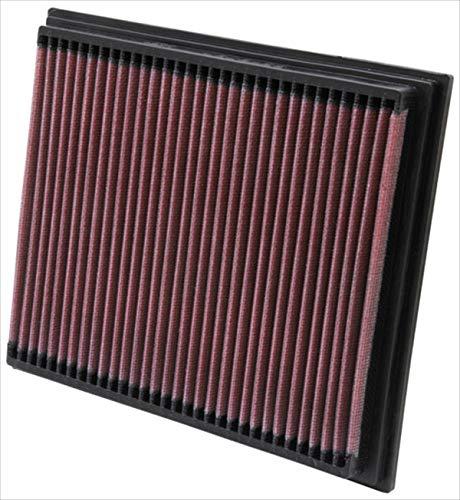 K&N 33-2767 Motorluftfilter: Hochleistung, Prämie, Abwaschbar, Ersatzfilter, Erhöhte Leistung, 1996-2004 Kompressor, SLK230, SLK200