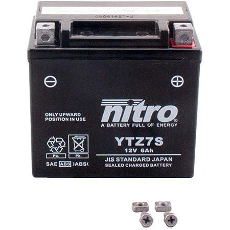 Batterie 12v 6ah Ytz7s Gel Nitro Xl 125 V Varadero Jc32 01 10 Auto
