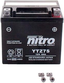 Batterie 12V 6AH YTZ7S Gel Nitro XL 125 V Varadero JC32 01 10