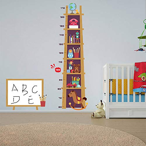 TAOYUE Hoogte Meetmuurstickers Voor Kinderen Kinderkamer Decoraties Thuis Ladder Groei C