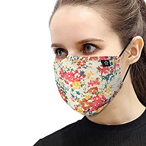 Protect Mouth Product Washable and Reusable for Personal Health Anti Dust Product with Adjustable Ear Loops Cotton Face Product