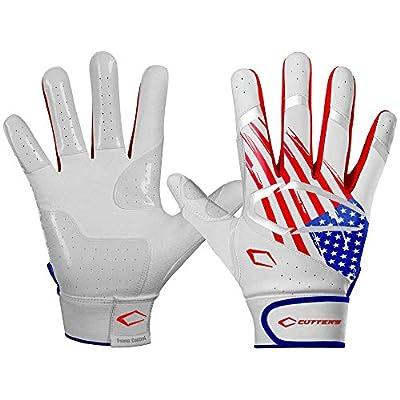 Cutters Power Control 2.0 Batting Gloves Flag A/L