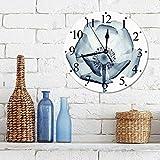 Silencioso Wall Clock Decoración de hogar de Reloj de Redon