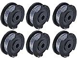 F016800569 Bobine et fil Strimmer compatibles avec le remplacement Bos-ch EasyGrassCut,6 pièces