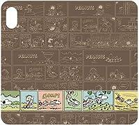 【カラー:ライナス&スヌーピー】iPhone XS MAX ピーナッツ 手帳型ケース キャラクター カバー 手帳型 手帳ケース カード収納 ケース ダイアリー フリップカバー かわいい グッズ スヌーピー ライナス アイフォン XSmax iphonexsmax 6.5inch テンエスマックス スマホケース スマホカバー s-gd_7a475