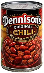Dennison's Original Chili Con Carne with Beans 15oz Can Pack of 6