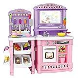 Stellen Sie Sich vor, Sie Spielen Küche mit Utensil Kleinkind Mein Kleiner Koch mit 70 stücke Für Kinder Jungen Mädchen Kinder Kochen Rollenspiel Set Spiel Geschenk Werten Sie die Luxusküche auf