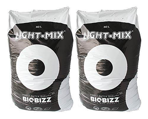 BioBizz Light-Mix Pflanzsubstrat mit Perlite 100 Liter