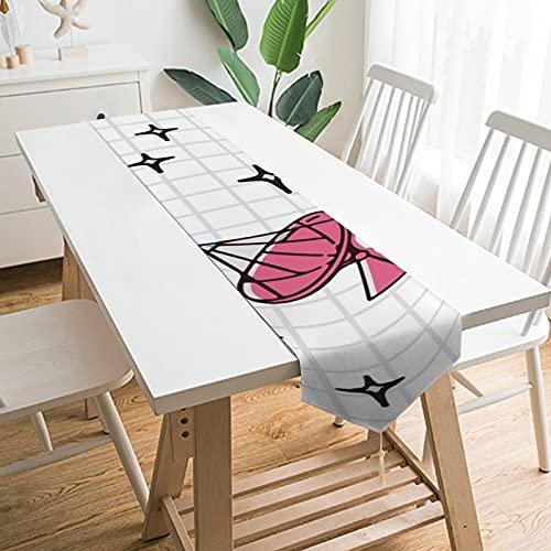 Free Brand Camino de mesa de 228,6 x 33 cm, diseño de estrella galaxia infantil, decoración de mesa para boda, mesa de mesa, decoración de picnic al aire libre mesa de comedor