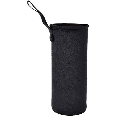 ペットボトルカバー 水筒カバー 断熱ネオプレン 水筒ケース ボトルカバー ホルダー750ml 用 (750ml -ブラック)