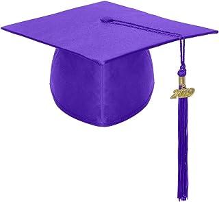 TOPTIE Unisex Graduation Cap Hat with 2019 Tassel for Kids Adult Graduation