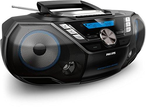 Philips Soundmachine AZB798T/12 CD-Soundmachine (Bluetooth-Musikempfänger, USB Direct, UKW-Tuner, DAB+, 12 Watt) schwarz
