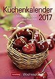 Küchenkalender - Kalender 2017 - Harenberg-Verlag - Wochenkalendarium - 53 Blatt mit Zitaten und Rezepten - Wandkalender - 25 cm x 35,5 cm