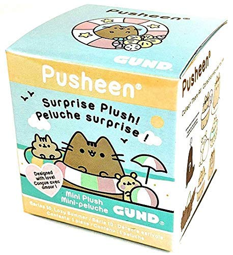 GUND - Pusheen Surprise Plush Blind Box Series 10: Lazy Summer