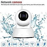 Cámara inalámbrica para el hogar 1080P HD WiFi Bebé/Mascota Audio bidireccional Detección de Movimiento Visión Nocturna Vigilancia de Seguridad remota
