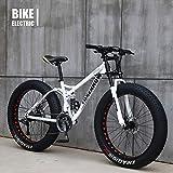 DSHUJC Bicicleta de montaña de 26 Pulgadas, Bicicleta de montaña Fat Bike/Fat...